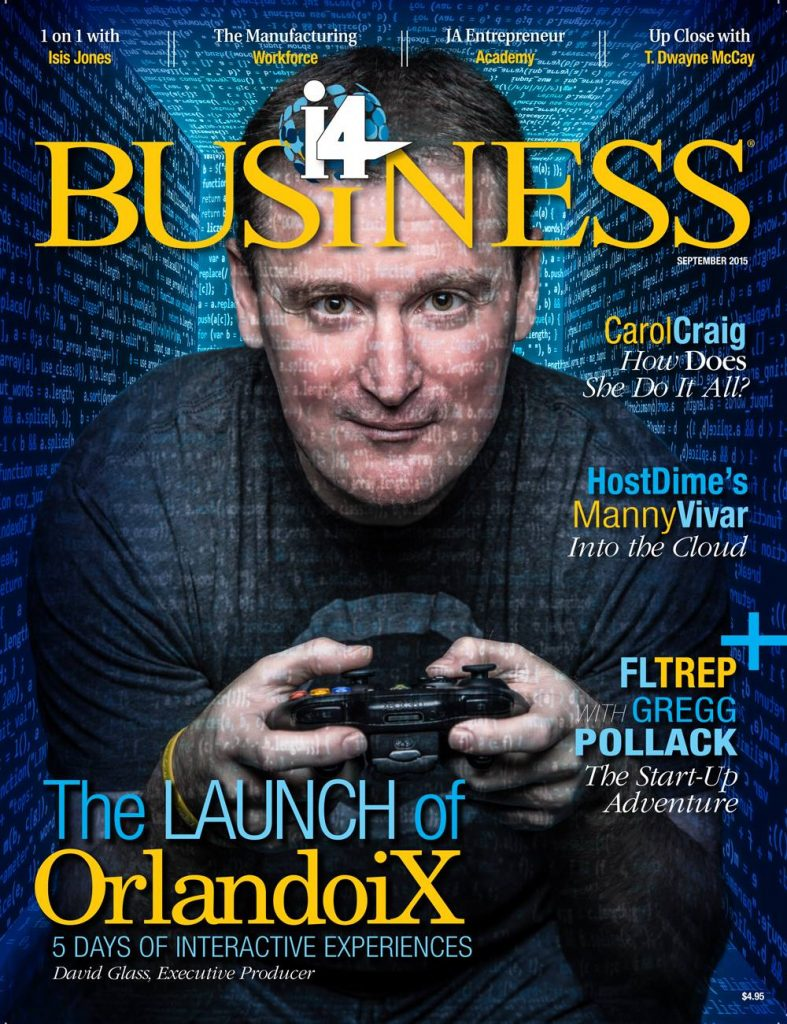 David C. Glass on the cover of i4 Business Magazine