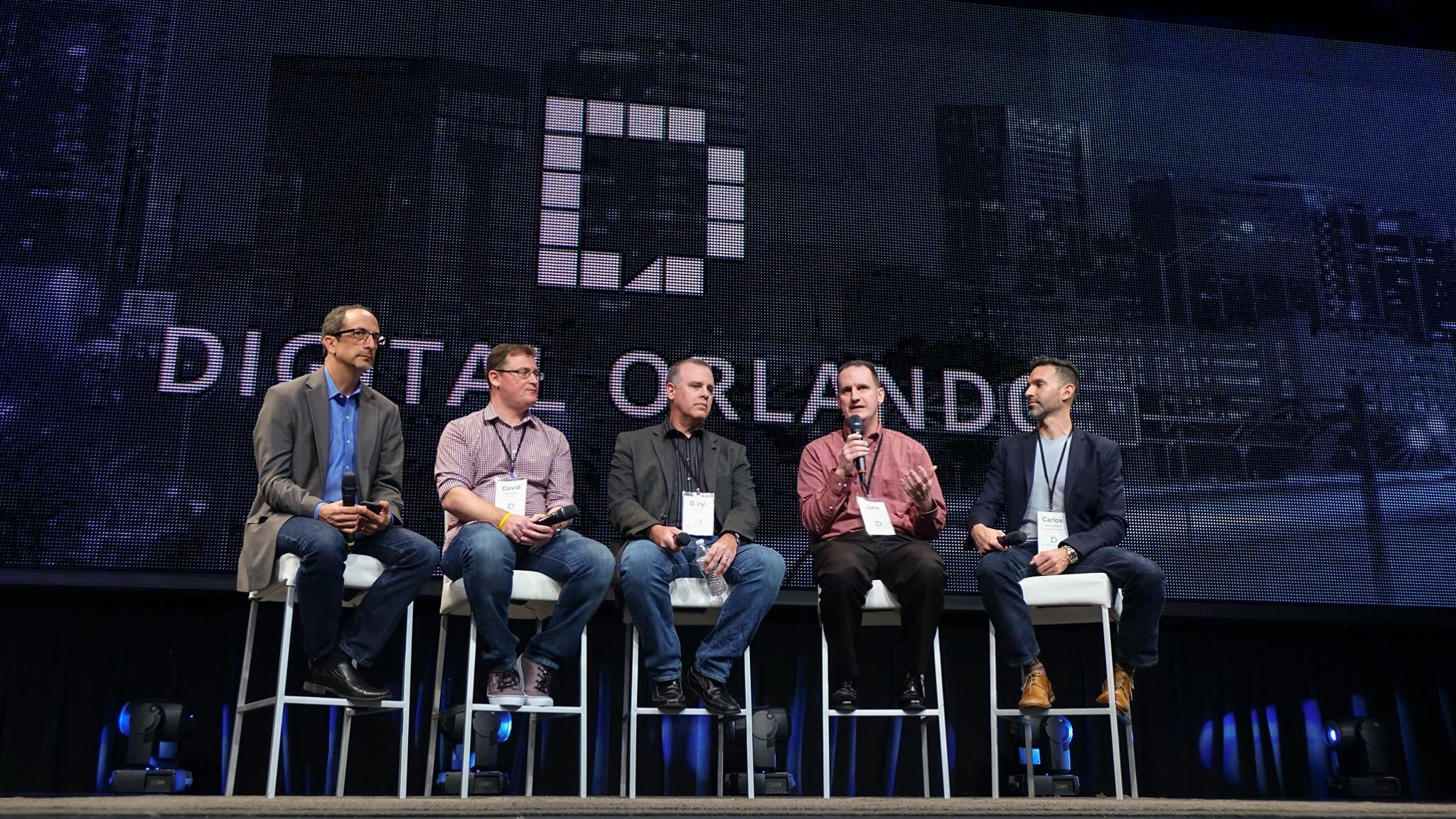 David C. Glass on a panel discussion at Digital Orlando 2016